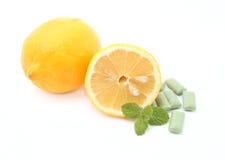 Lemon and mint Stock Photos