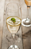 Lemon mint coctail Royalty Free Stock Photography
