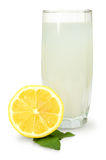 Lemon- mint drink Royalty Free Stock Photography