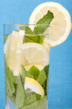 Lemon and mint drink Royalty Free Stock Photo