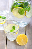 Lemon and mint fizz Stock Image