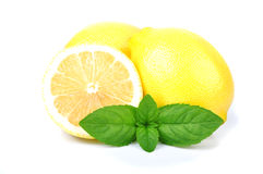 Lemon and mint Stock Images