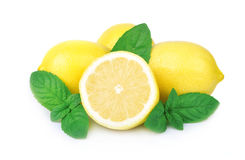 Lemon and mint Royalty Free Stock Image
