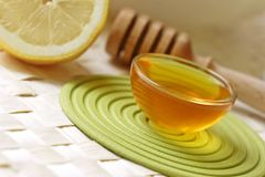 lemon miodu fotografia royalty free