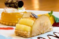 Lemon Mousse Dessert Royalty Free Stock Photography