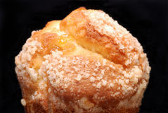 Lemon muffin close up Royalty Free Stock Photography