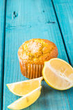 Lemon Muffin Royalty Free Stock Photo