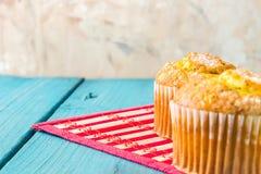 Lemon Muffin Royalty Free Stock Image