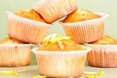 Lemon muffin Stock Images