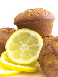 Lemon muffins Stock Photography