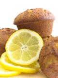 Lemon muffins Stock Photography