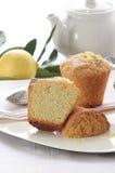 Lemon muffins Stock Image