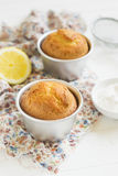 Lemon muffins Royalty Free Stock Images