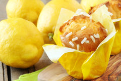Lemon muffins Royalty Free Stock Photography