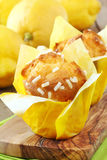 Lemon muffins Royalty Free Stock Image