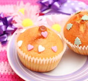 Lemon Muffins Stock Images