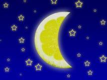 Lemon night Royalty Free Stock Image