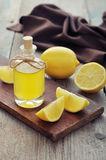 Lemon oil Stock Photos