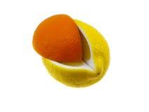 Lemon and orange Stock Photography