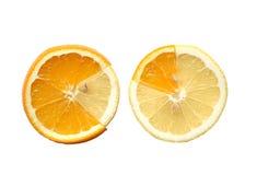 Lemon And Orange Stock Images