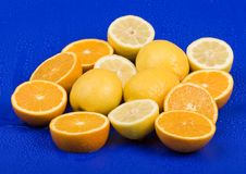 lemon orange Royaltyfri Foto
