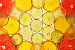 Lemon, orange and lime Stock Images