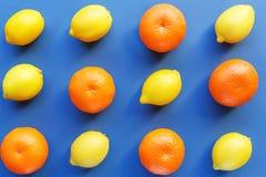Lemon and orange Royalty Free Stock Photo
