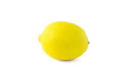 Lemon over white background Stock Images