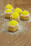 Lemon Pastry Royalty Free Stock Photography