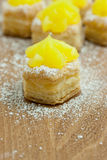 Lemon Pastry Stock Images