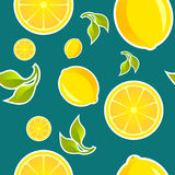 Lemon patern Royalty Free Stock Photo