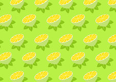 Lemon pattern Stock Images