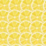 Lemon pattern Stock Photo