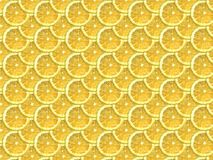 Lemon pattern. Realistic vector lemon fruit pattern texture vector illustration
