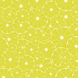 Lemon pattern Stock Photography