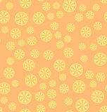 Lemon pattern. Seamless vector background Stock Photography