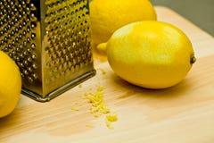 Lemon peel Stock Images