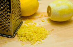 Lemon peel Stock Images