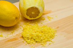 Lemon peel Royalty Free Stock Photography