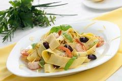 Lemon Pepper Pasta Stock Image