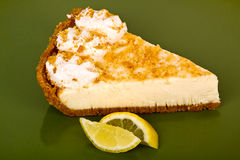 Lemon pie. Stock Photos