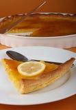 Lemon pie Stock Image