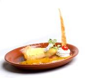 Lemon pie Royalty Free Stock Photography