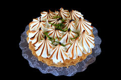Lemon pie. For sweet dessert royalty free stock photos