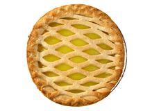Lemon pie Royalty Free Stock Images