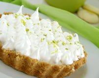 Lemon Pie. Delicious lemon pie from a Cafe Stock Image