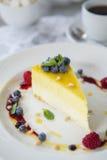 Lemon pie Stock Photography