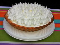 Lemon pie Stock Images