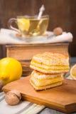 Lemon pie Stock Images