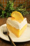 Lemon pie Royalty Free Stock Image